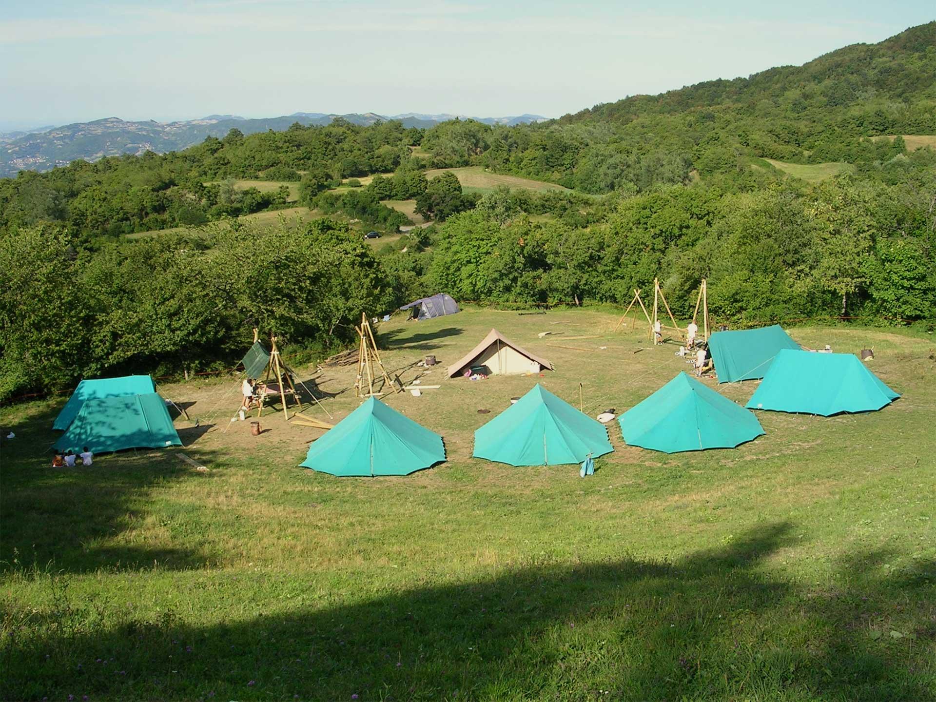 Aree campeggio